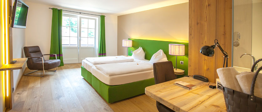 Hotel Zur Post, St. Gilgen, Salzkammergut, Austria - bedroom example.jpg